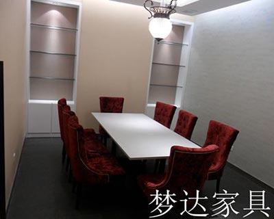 郑州彩堡西餐厅桌椅装修效果图