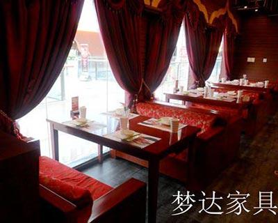 郑州峇峇娘惹西餐厅桌椅装修效果图