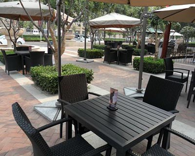 郑州高尔夫咖啡厅桌椅装修效果图