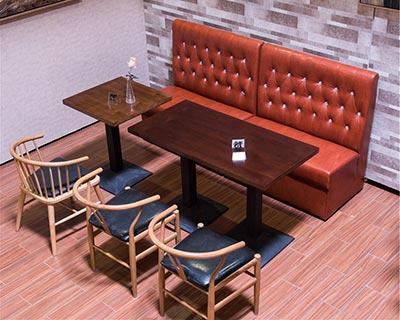 实木西餐桌椅_型号WR002