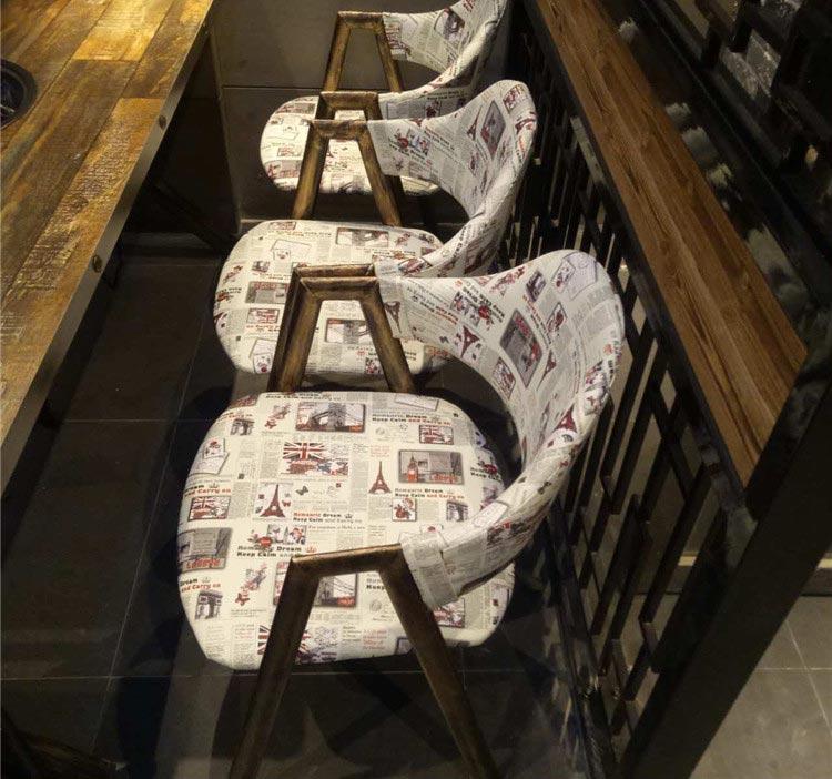 橙色时代实木火锅桌子配套沙发椅