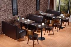 高档西餐厅装修应该使用什么桌椅?