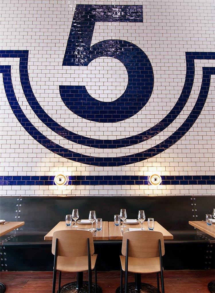 5号酒吧桌椅装修效果图