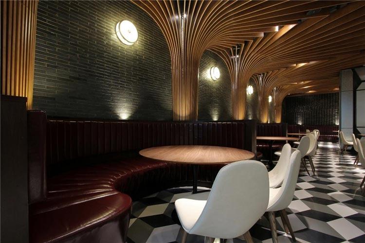 酒吧特色餐厅桌椅装修效果图