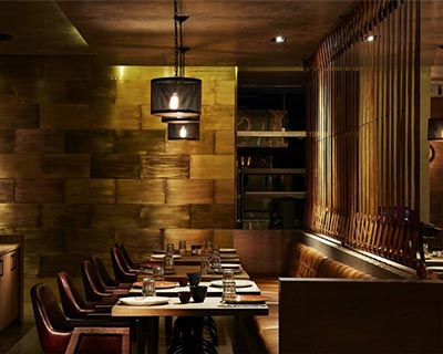 pattern西餐厅桌椅装修效果图