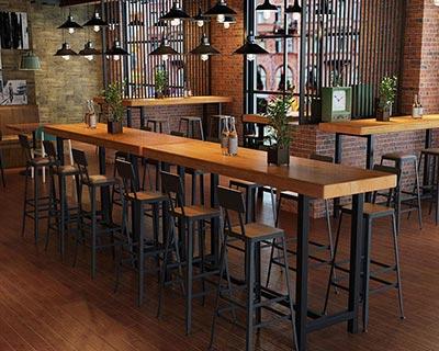 酒吧高脚桌椅_型号BR005