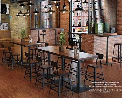 铁艺酒吧桌椅_型号BR006