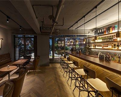 杭州Mill 7酒吧桌椅装修效果图