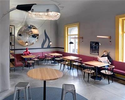 Chicago Grill 美式酒吧桌椅装修效果图