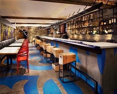 多伦多餐厅酒吧桌椅装修效果图