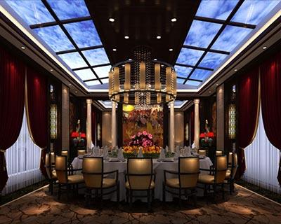 重庆涪陵乐颐餐厅桌椅装修效果图