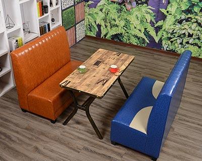 西餐厅桌椅组合_型号WR007
