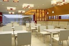 快餐厅桌椅结构解析!