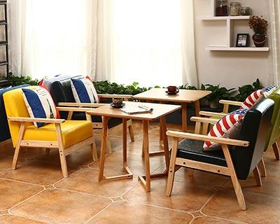 西餐厅休闲沙发_型号CT006