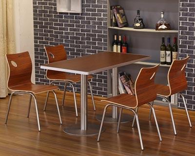 肯德基快餐桌椅_型号SB005