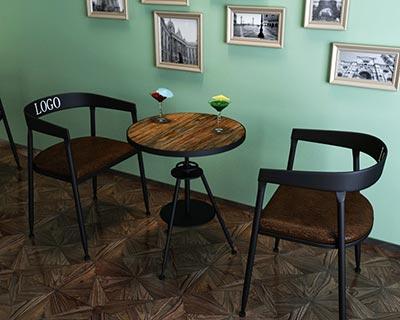 酒吧桌椅组合_型号BR009
