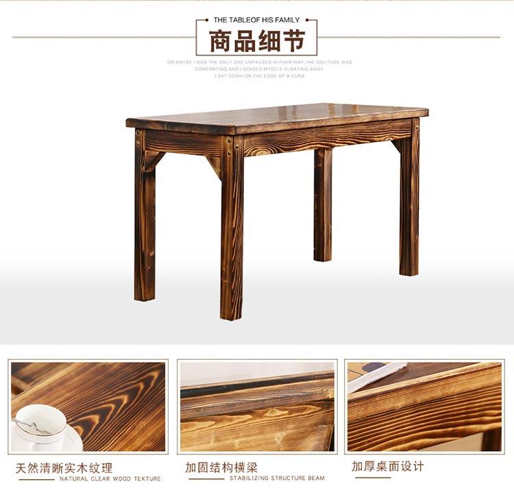 分体快餐桌椅产品细节图