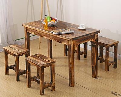 分体快餐桌椅_型号SB009