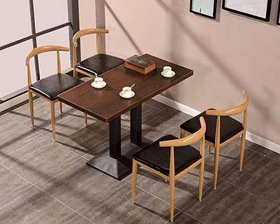 时尚快餐桌椅_型号SB006