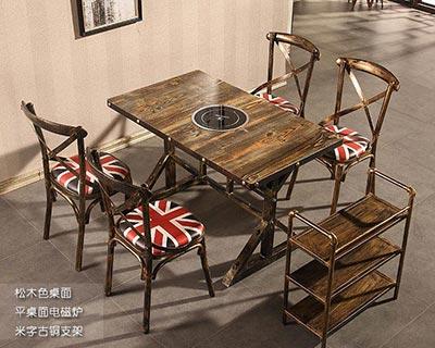 电磁炉火锅桌椅_型号HP007