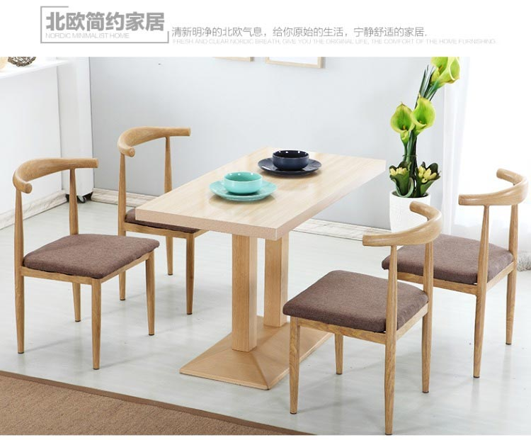 新款快餐桌椅装修效果图