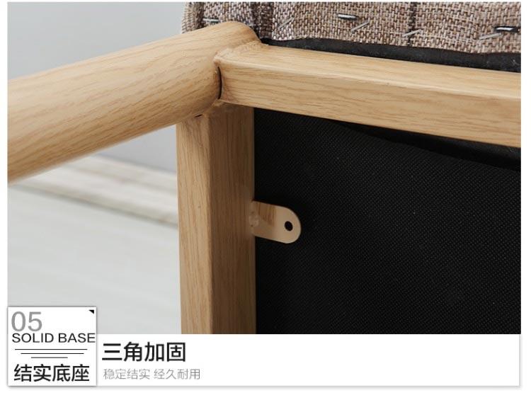新款快餐桌椅三角加固底座设计