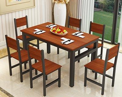 餐厅快餐桌椅_型号SB008