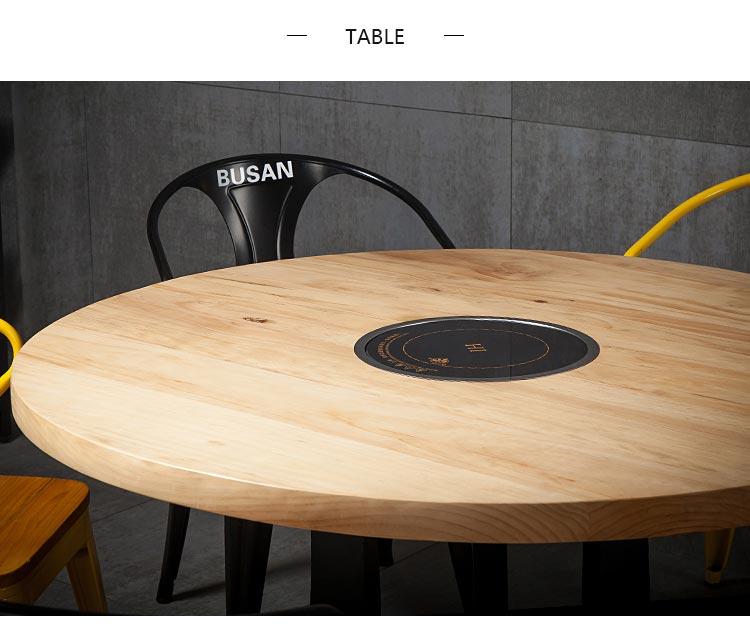 自助火锅桌桌面图片