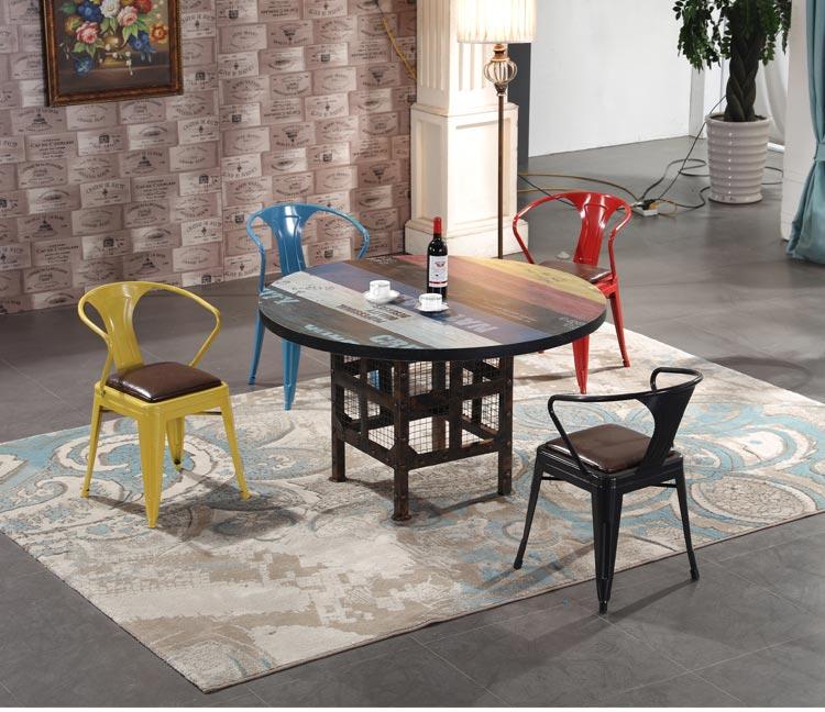 木质火锅餐厅桌椅装修效果图