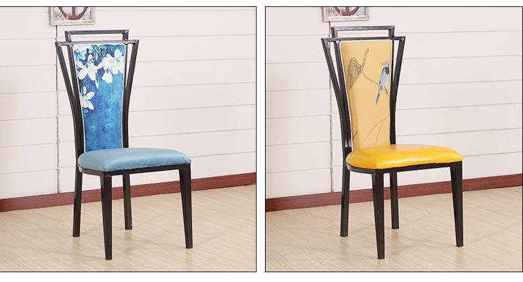 新中式时尚火锅餐椅图片