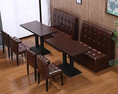 茶餐厅卡座沙发_型号CT025