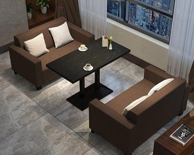 快餐卡座沙发_型号CT026