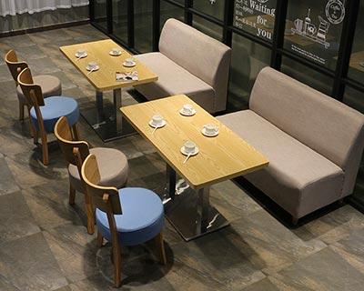 咖啡厅卡座沙发_型号CT022