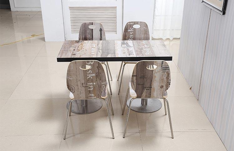 专业快餐桌椅装修效果图