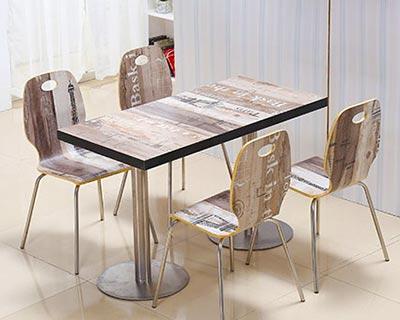 专业快餐桌椅_型号SB011