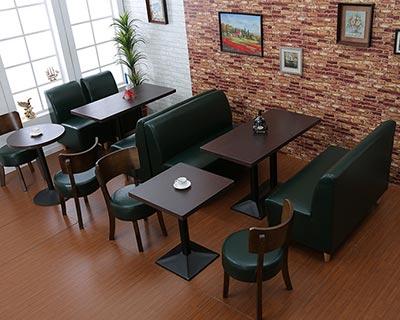 美式西餐厅卡座沙发_型号CT023