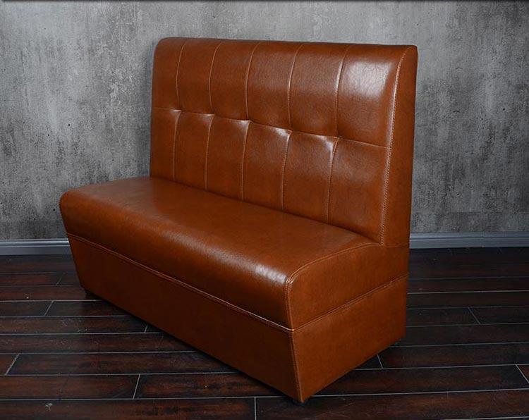 肯德基快餐卡座沙发产品实拍图