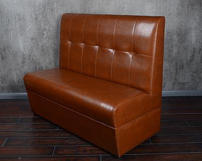 肯德基快餐卡座沙发_型号CT040