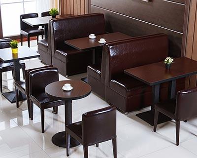 咖啡厅桌椅_型号WR011