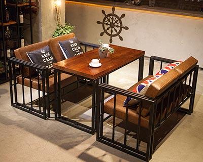 咖啡厅休闲桌椅_型号WR012