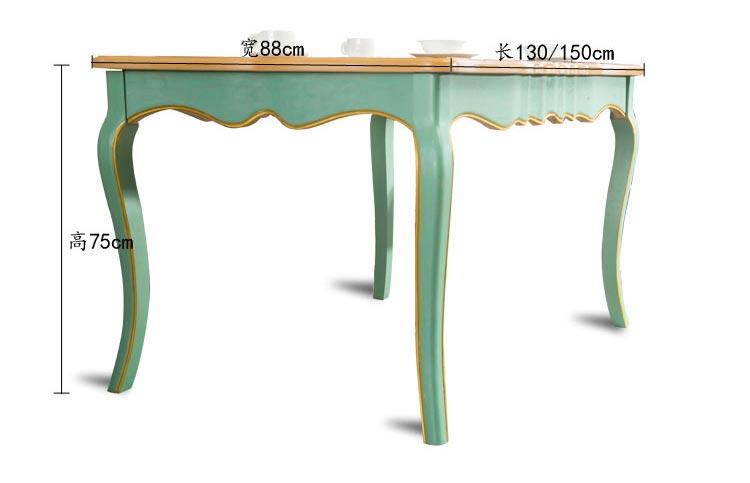 橡木西餐桌尺寸参数