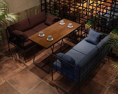 酒吧时尚沙发_型号CT043