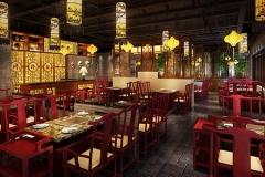 火锅桌椅如何融入餐厅环境?