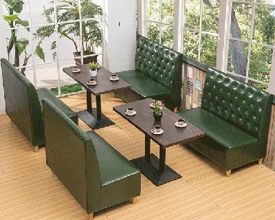 欧式餐厅卡座_型号CT018