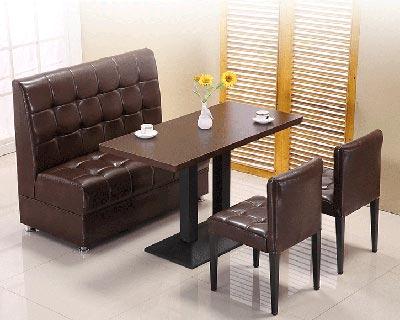 咖啡店卡座沙发_型号CT038