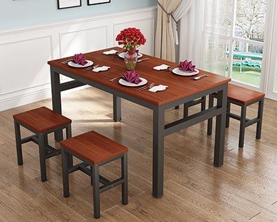 快餐餐桌椅_型号SB013