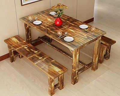 休闲快餐桌椅_型号SB015
