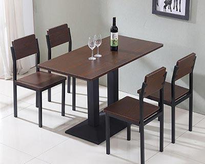 快餐餐饮桌椅_型号SB016