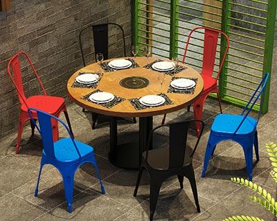 小火锅餐桌_型号HP018