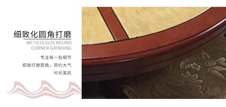 高档火锅餐桌细致圆角打磨工艺